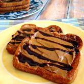 Almond Cookie Butter French Toast