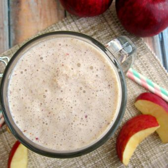 Caramel Apple Pie Milkshake