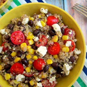 Mexican Quinoa Salad Recipe – Healthy and Delicious!