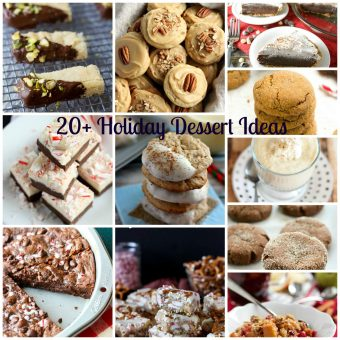 20+ Holiday Dessert Ideas
