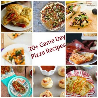 20+ Game Day Pizza Recipes