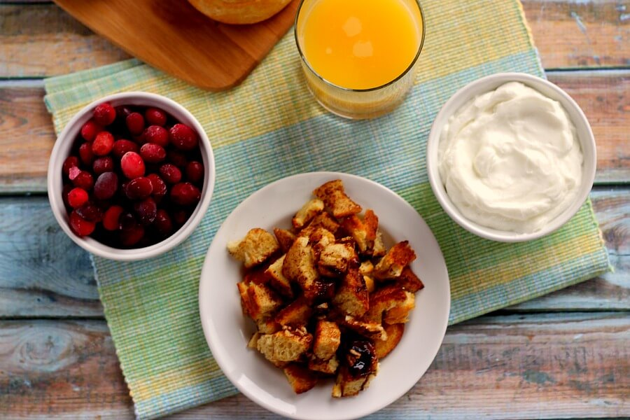 Smooth, creamy, and bursting with just the right amount of sweetness, this Cranberry Orange Sweet Roll Breakfast Shake is a great start to the morning.