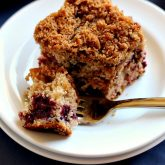 Mixed Berry Coffee Cake Made