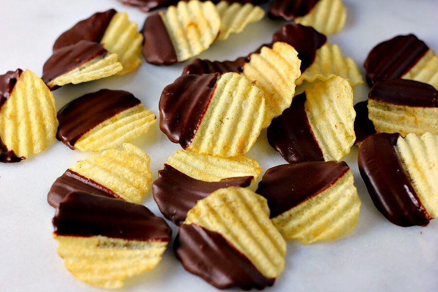 Chocolate Covered Potato Chips - Pumpkin 'N Spice