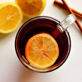 Slow Cooker Cranberry Spice Tea