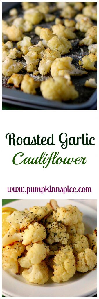 This Roasted Garlic Cauliflower is easy to prepare, gluten-free, and full of flavor.