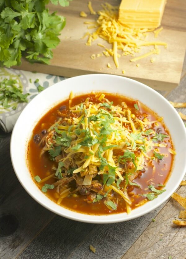 slow-cooker-chicken-enchilada-soup-576x800