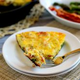 Asparagus and Bacon Frittata