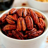 Maple Cinnamon Pecans