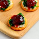 Spinach and Brie Bites
