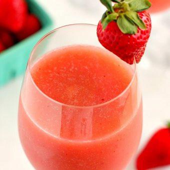 Strawberry Mango Moscato Slush