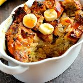 Banana Caramel French Toast Bake
