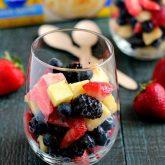 Berry Vanilla Fruit Salad