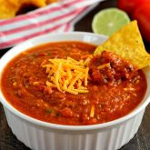 Cheesy Chili Salsa