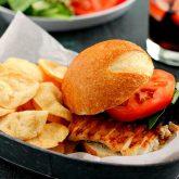Grilled Haddock Sandwich