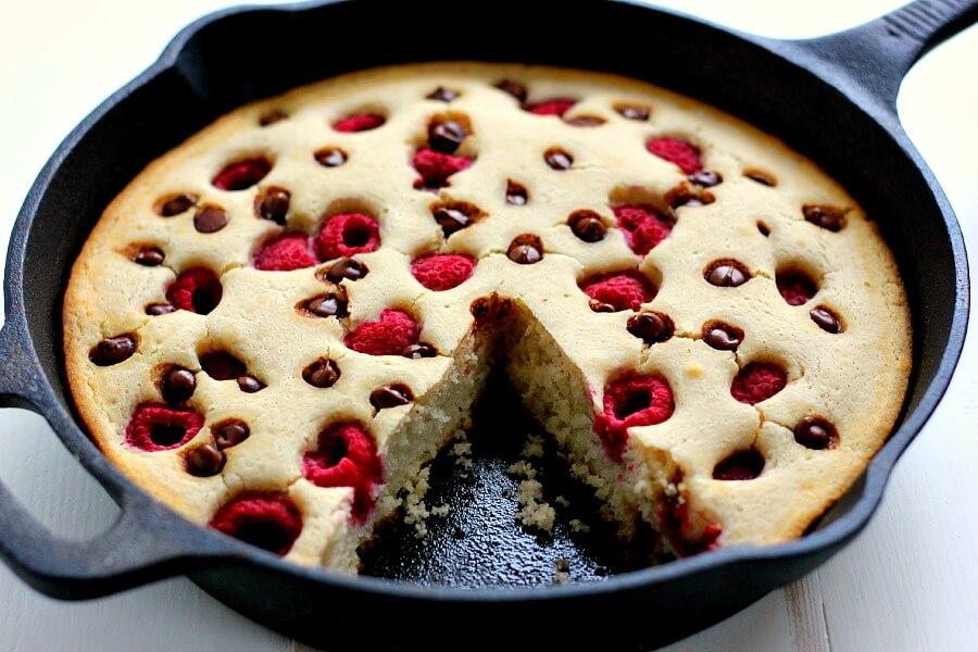 Use Krusteaz Chocolate Chip Pancake Mix For Cake