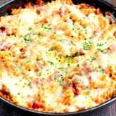 One Pan Pizza Bake