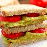 Smashed Chickpea and Avocado Sandwich