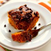 Chocolate-Swirled Pumpkin Bars