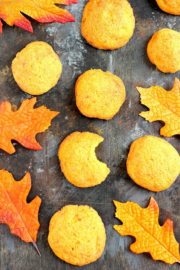 Soft, thick, and bursting with cinnamon and sugar, these Pumpkin-Doodle Cookies are full of pumpkin flavor. They're easy to make and the perfect fall treat to satisfy your pumpkin and cinnamon cravings!