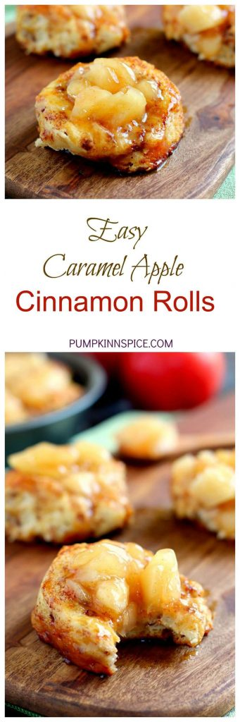 Soft, fluffy, and bursting with flavor, these Easy Caramel Apple Cinnamon Rolls take just minutes to prepare and are loaded with a rich caramel sauce and apple slices. By using a pre-made dough and apple pie filling, these rolls are ready in no time!