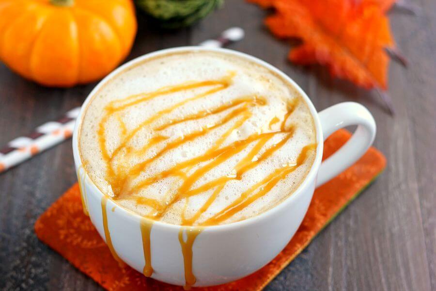 Salted Caramel Latte - Pumpkin 'N Spice