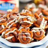 Almond Pretzel Bites