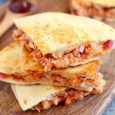 30 Minute Thursday: BBQ Chicken Quesadilla