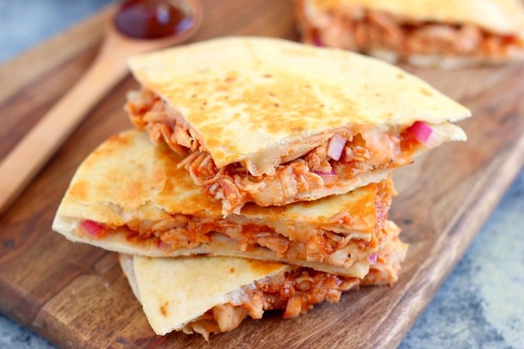 30 Minute Thursday Bbq Chicken Quesadilla Pumpkin N Spice