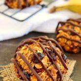 Chocolate Cherry Banana Breakfast Cookies