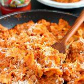 Creamy Bowtie Lasagna {Plus a Video!}