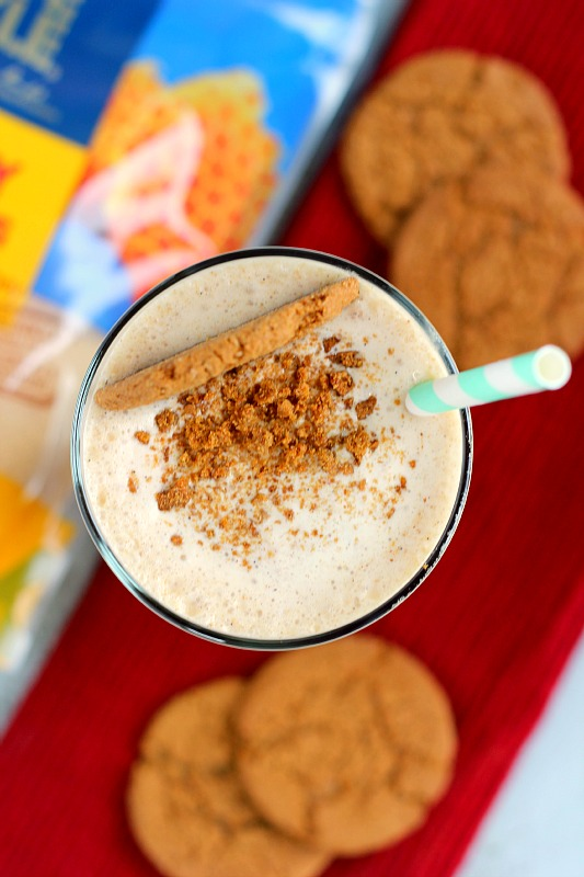 This Gingerbread Honey Milkshake is the perfect sweet treat for the holidays. Filled with creamy vanilla ice cream, ginger snap cookies, a combination of warm spices, and Tate+Lyle® Honey Granules, this drink is packed with flavor and easy to make!