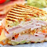 Turkey, Bacon and Guacamole Panini