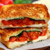 30 Minute Thursday: Caprese Grilled Cheese
