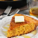 Skillet Honey Cornbread {Plus a Video!}