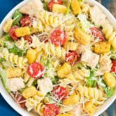 30 Minute Thursday: Chicken Caesar Pasta Salad