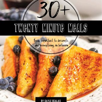 30+ Twenty Minute Meals E-CookBook is Here!