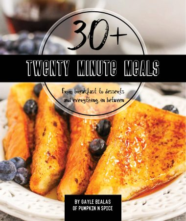 Twenty Minute Meals E-Cookbook