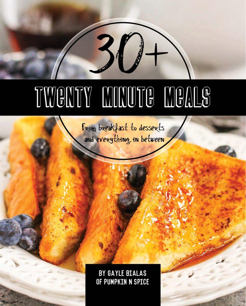 Twenty Minute Meals E-Cookbook