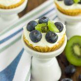 Mini Blueberry Kiwi Tarts