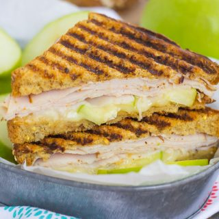 30 Minute Thursday: Turkey, Apple and Brie Panini