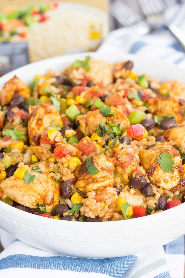 Southwest Chicken and Rice Bowls