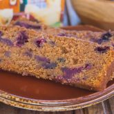 Blueberry Gingerbread Loaf