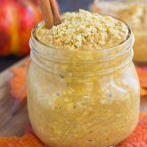 Pumpkin Pie Overnight Oats {Plus a Video!}
