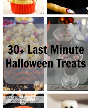 30+ Last Minute Halloween Treats