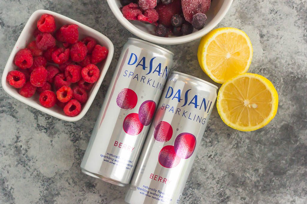 This Triple Berry Spritzer is a light and refreshing drink to quench your thirst. Filled with berry flavored sparkling water, frozen fruit, and a hint of sweetness, this drink is easy to prepare and is sure to be a crowd-pleaser!