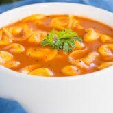 30 Minute Thursday: Creamy Tomato Tortellini Soup