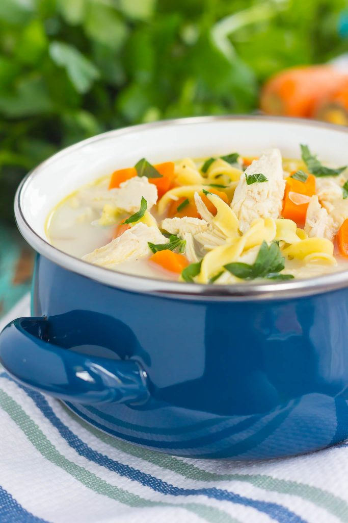 recipe: creamy chicken noodle soup slow cooker [38]