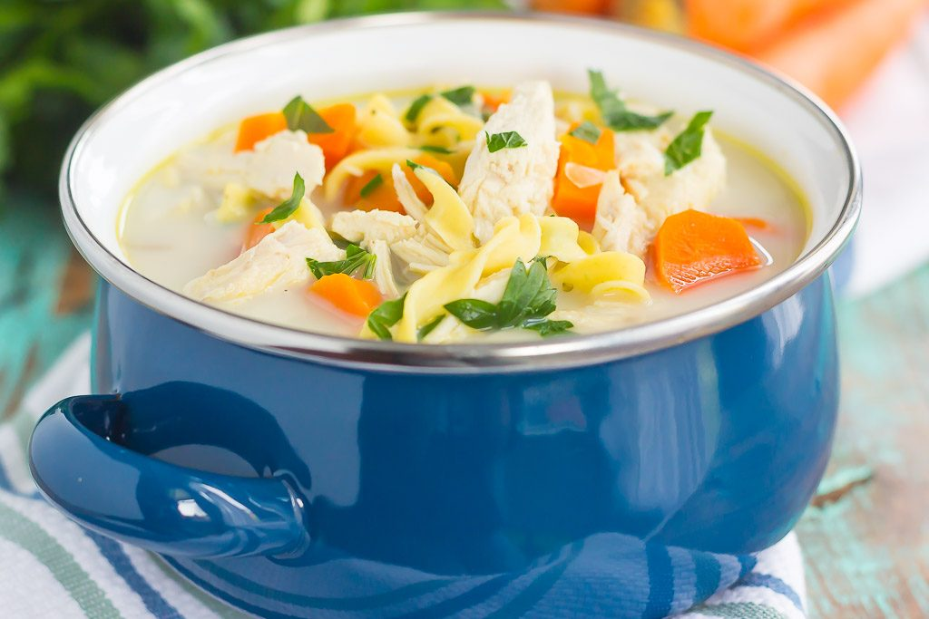 recipe: creamy chicken noodle soup slow cooker [29]