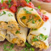 30 Minute Thursday: Baked Chicken Ranch Taquitos